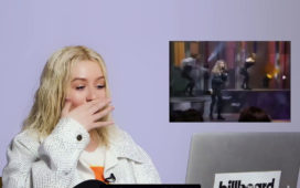 aguilera react billboard