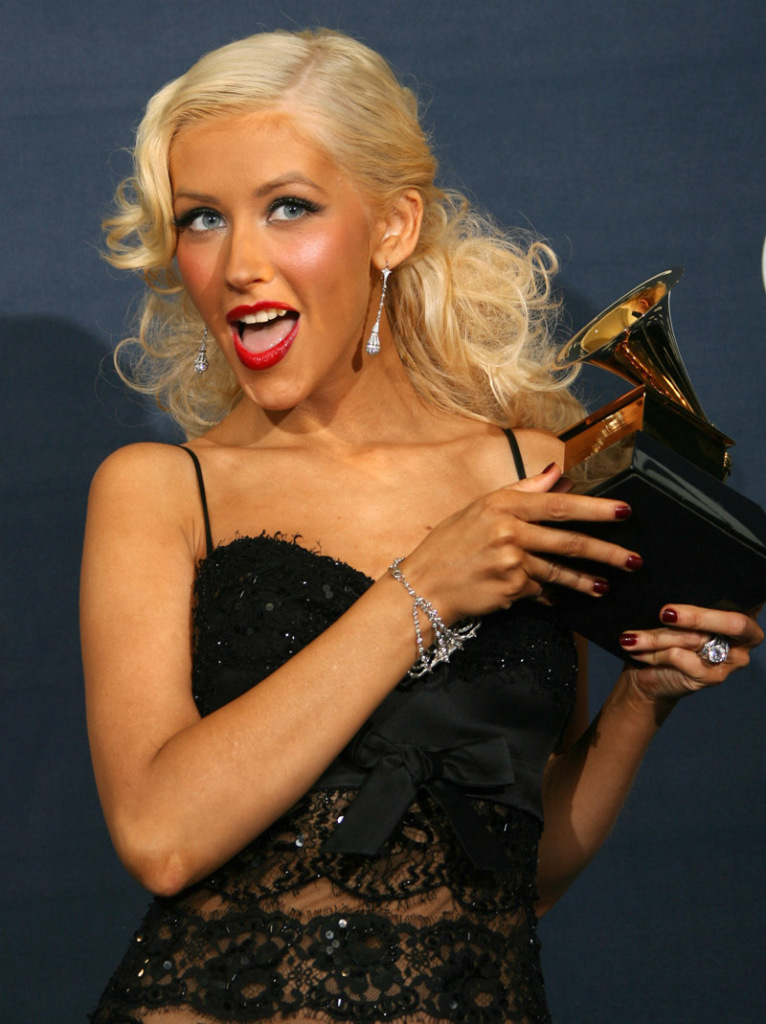 christina aguilera best female pop vocal performance 2007