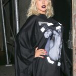 At the NYFW Opening Ceremony show   September 9 04